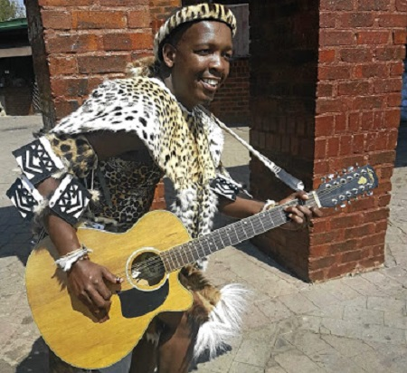 Maskandi artist Mbuzeni Mkhize.