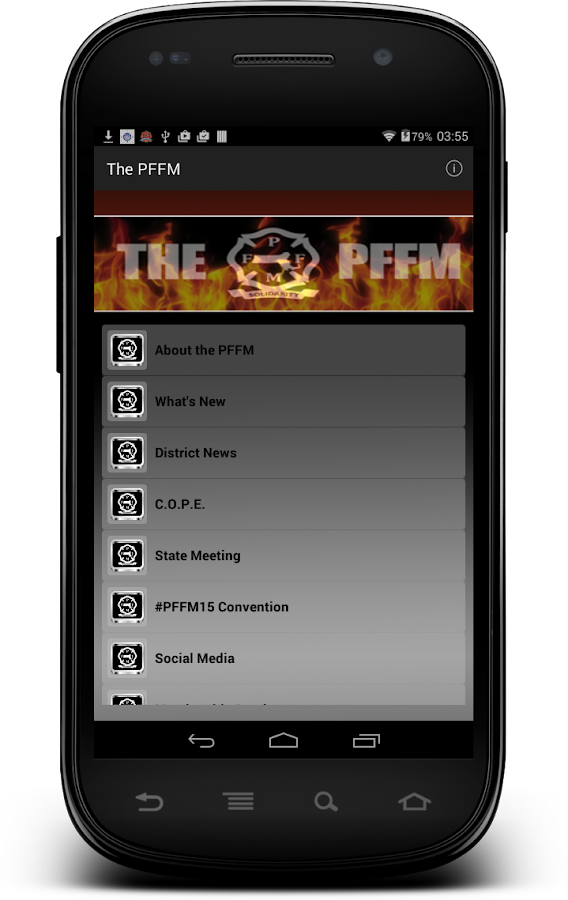 The PFFM- screenshot