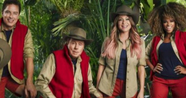 I'm A Celeb... contestants wear red socks to hide bloody feet
