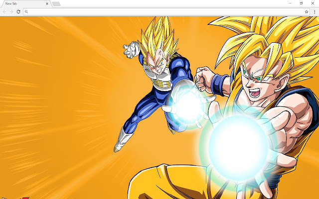 Dragon Ball Z - DBZ Backgrounds & New Tab
