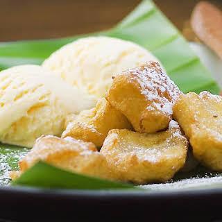Banana Coconut Fritters.