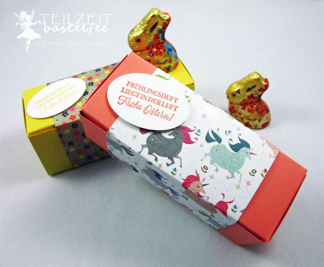 Stampin' Up! - Inkspire_me Challenge, Special Ostern Easter, Müsli, Granola, Box, Verpackung, Kleiner Wunscherfüller