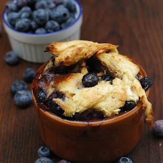 Blueberry & Challah Breakfast Bread Pudding.