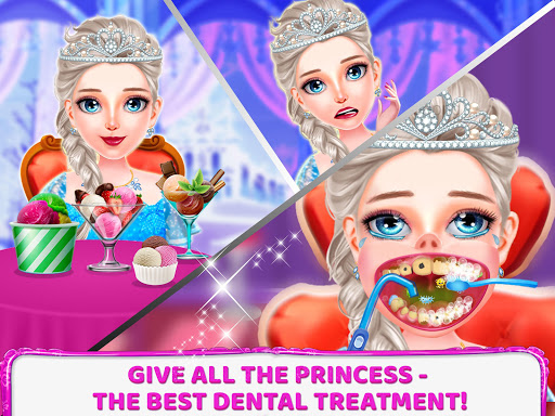 Princess Tooth Dentist Surgery - screenshot