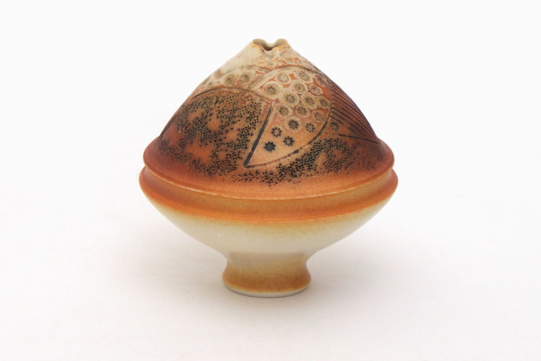 Geoffrey Swindell Miniature Ceramic Form 03