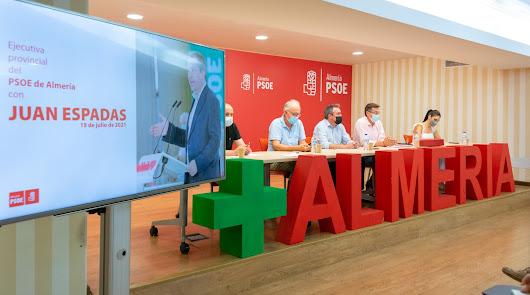 El PSOE de Almería avala a Juan Espadas