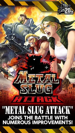 METAL SLUG ATTACK 1.20.0 (Infinite AP) Apk
