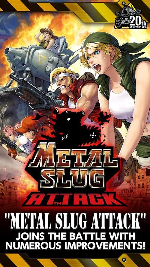 Screenshot 1 METAL SLUG ATTACK 3.18.0 APK MOD