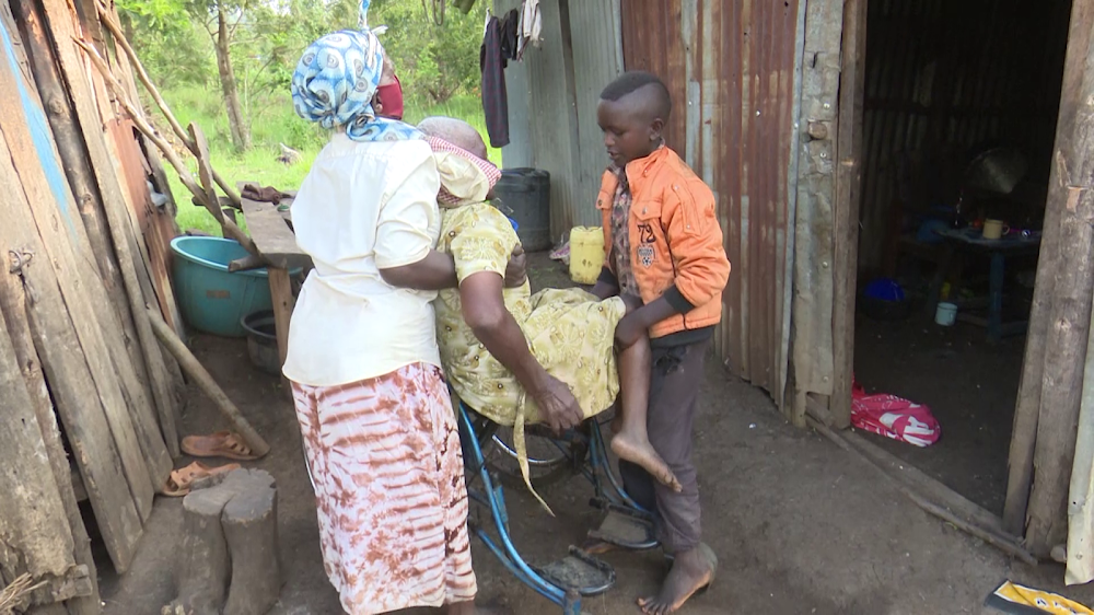Disabled Mwea widows appeal to well-wishers for help