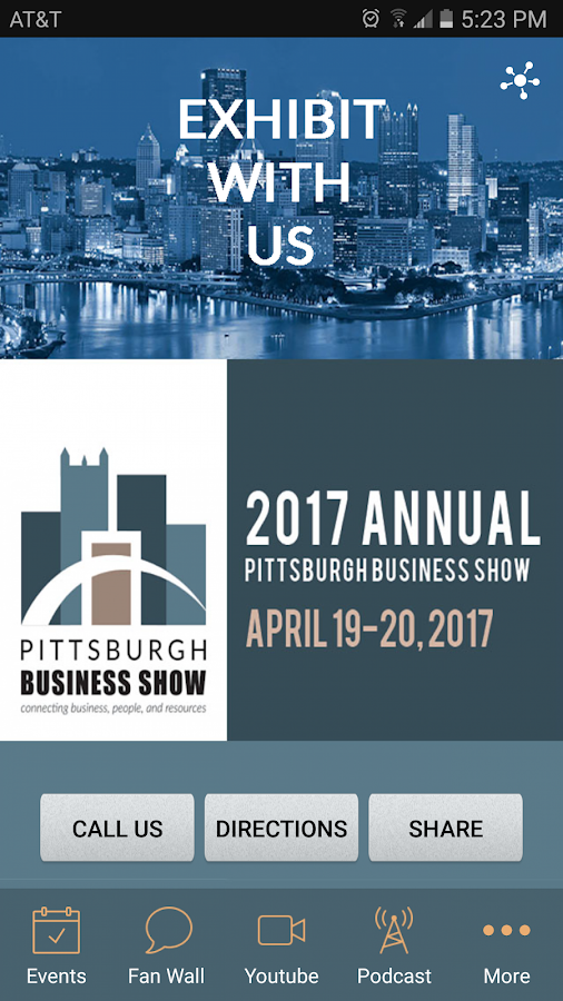 Pittsburgh Business Show- screenshot