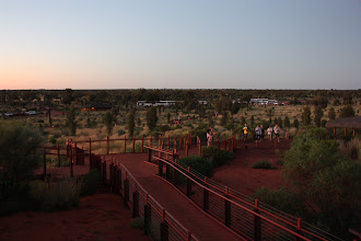 Photo: Year 2 Day 219 - People Still Arriving for Sunset at Uluru