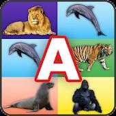 ABC Animals Memory