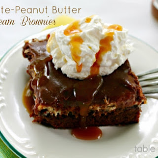 Chocolate-Peanut Butter Dream Brownies.