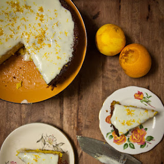 Orange Turmeric Gluten Free Cake.