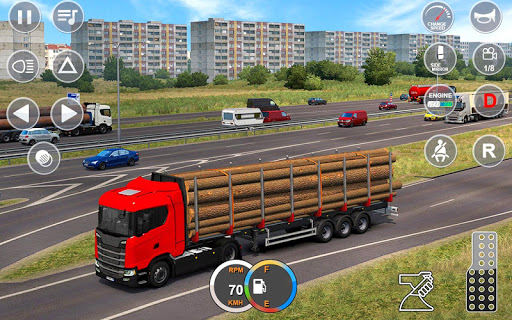 Indian Mountain Heavy Cargo Truck : Euro Truck Sim apkmr screenshots 2