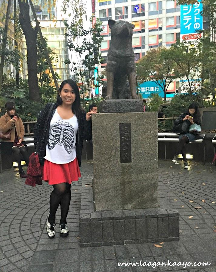 Hachiko Monument, Shibuya Station, Tokyo Japan