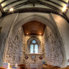 St Andrew's Church, Shoeburyness, Essex, UK by Christine Ayre - Buildings & Architecture Places of Worship ( hdr, church )
