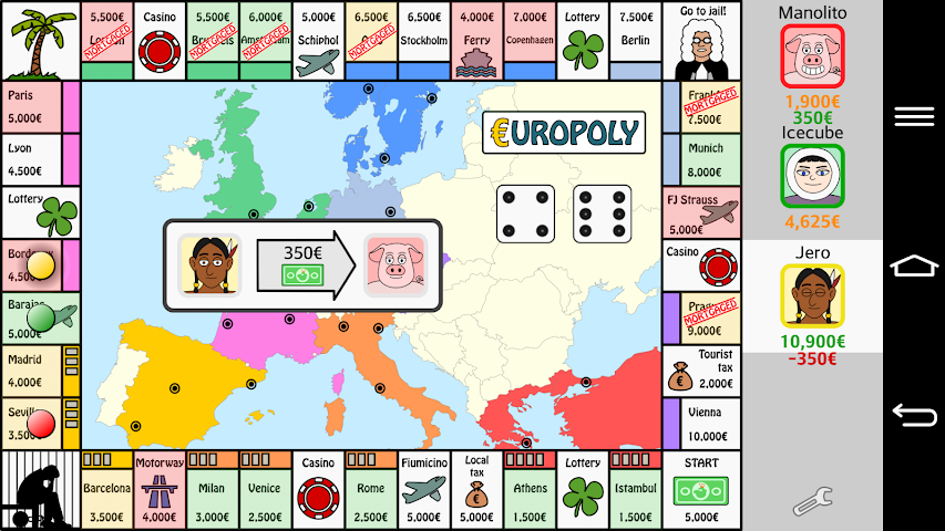 android Europoly Screenshot 5