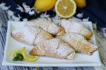 Lemon Cream Cheese Crescents