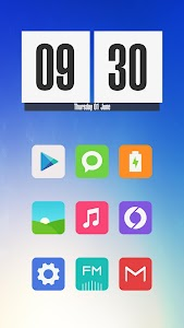 Miu - MIUI 8 Style Icon Pack screenshot 1