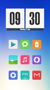 Miu - MIUI 8 Style Icon Pack- screenshot thumbnail