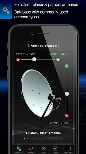 Satfinder Free 2.0 screenshots 2