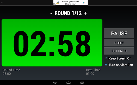 Boxing Interval Timer FREE screenshot 7