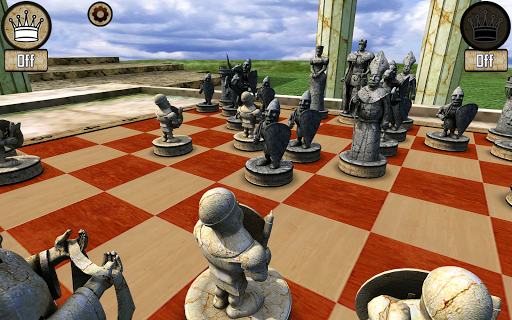 Warrior Chess game for Android screenshot
