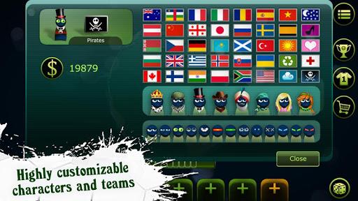 Các đội tuyển quốc gia đa dạng ở Foot LOL mod