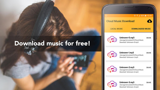 Free Music Download from Cloud Services Offline 1.4 screenshots 1