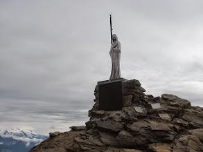 Photo: Madonna auf dem Gipfel