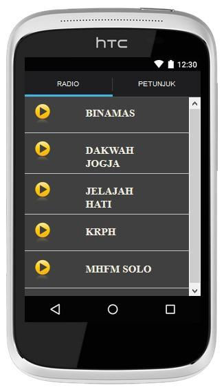 Radio Muslim Multistation- screenshot