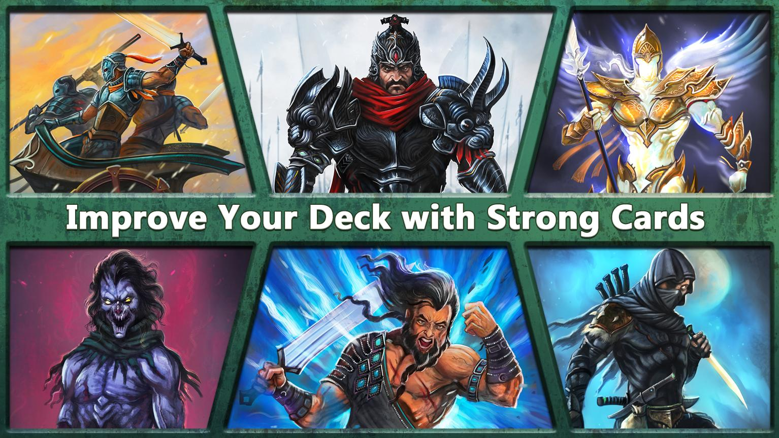 Clash of Warriors | Card Game- screenshot