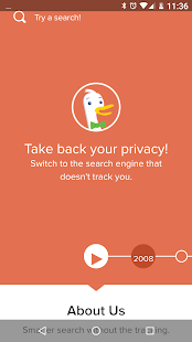 Privacy Browser- screenshot thumbnail