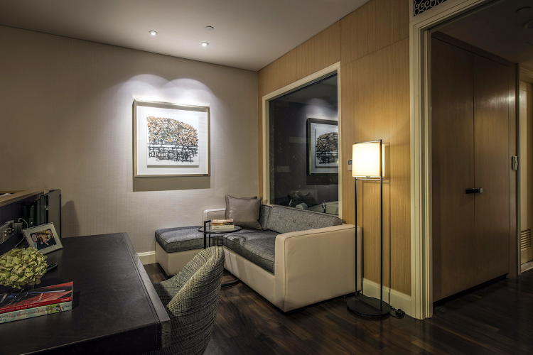 living space at Ascott Raffles Place Singapore