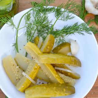 Deli-Style Dill Pickles