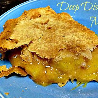 Deep Dish Mango Pie.
