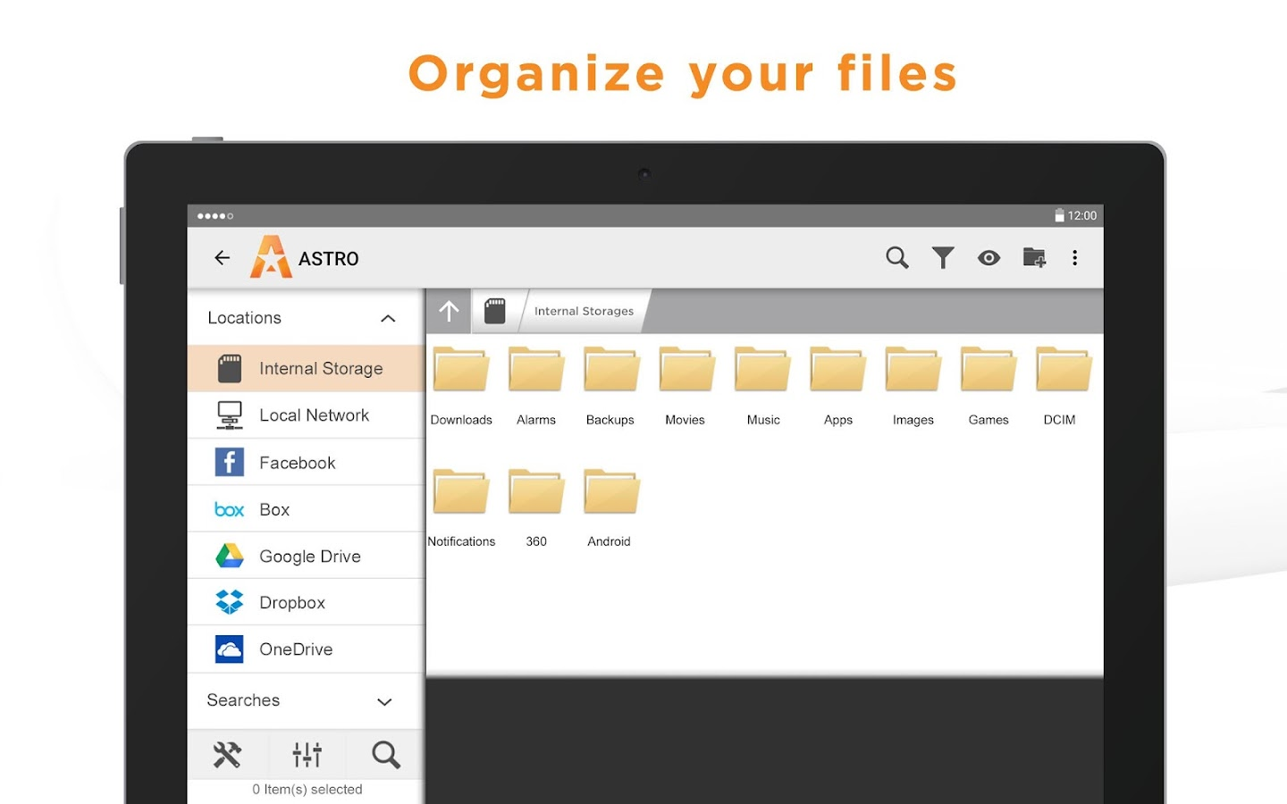 File Manager (File Explorer) by Astro- screenshot