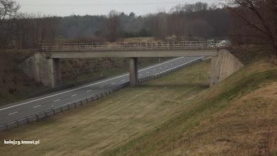Photo: Widok z wiaduktu drogowego nad S3