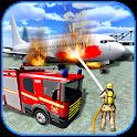 American Fire Fighter 2019: Airplane Rescue icon