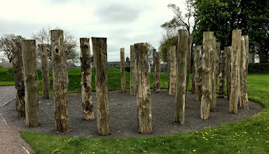 Photo: Wood Henge