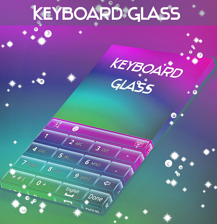 Glass Keyboard Theme 4.181.106.86 screenshot 1872206