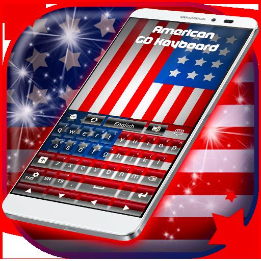 American Flag For Keyboard Theme