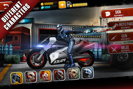 Death Moto 3 v1.2.17 Mod Money