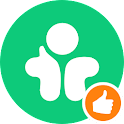 Meet new friends, chat, date icon