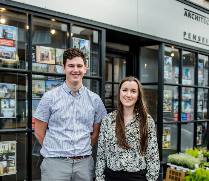Architectural apprentices take up roles at practice