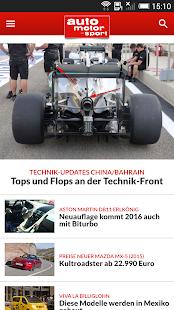 auto motor und sport - screenshot thumbnail