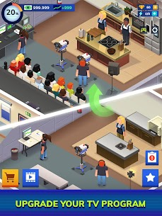 TV Empire Tycoon Mod Apk (Unlimited Money) 0.9.3.3 9