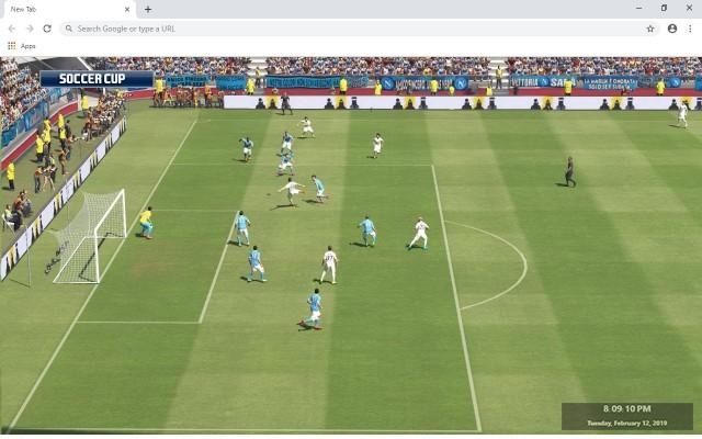 Dream League Soccer New Tab Theme