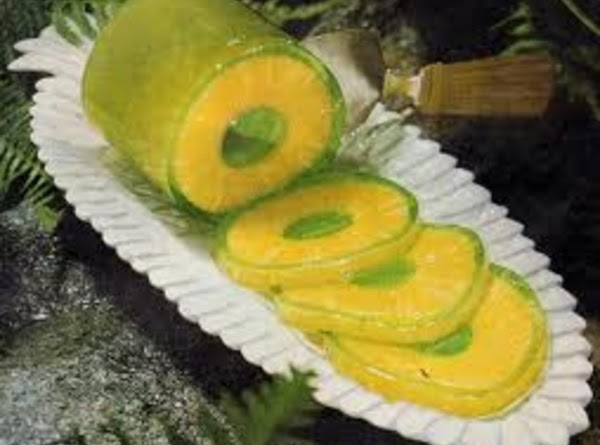 Pineapple Jello  Rings Recipe